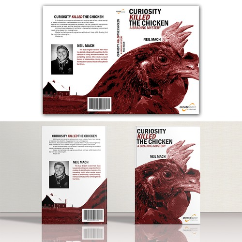 Book cover contest -Curiosity killed the chicken