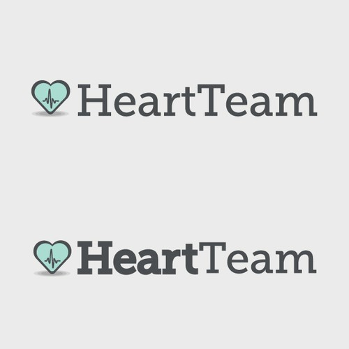 Logo Design for Heart Team