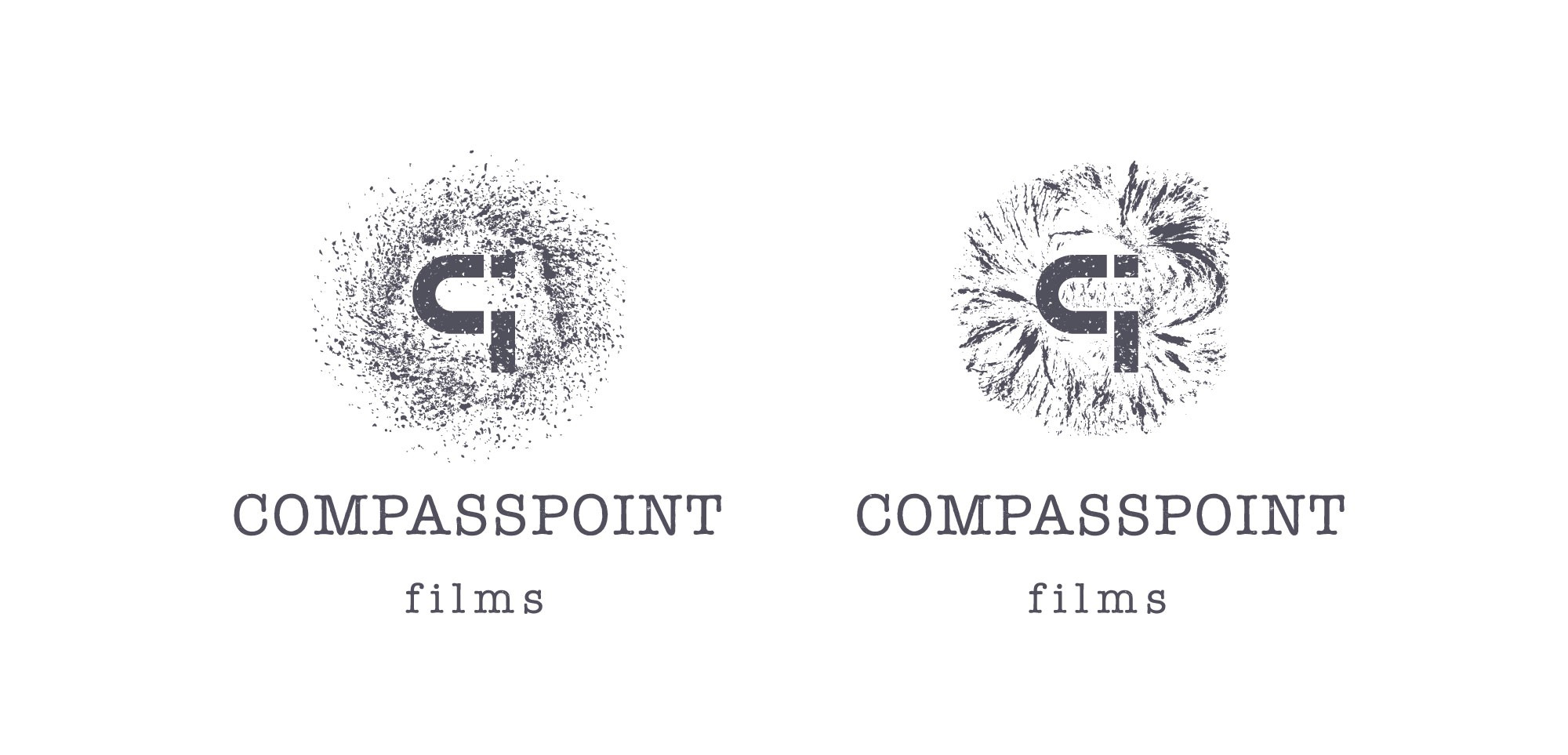 Create a visually striking logo for a boutique film production company.