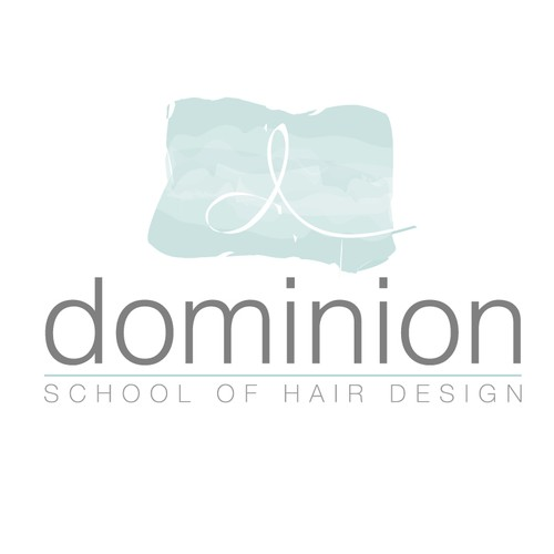 logo project for the school of hair design