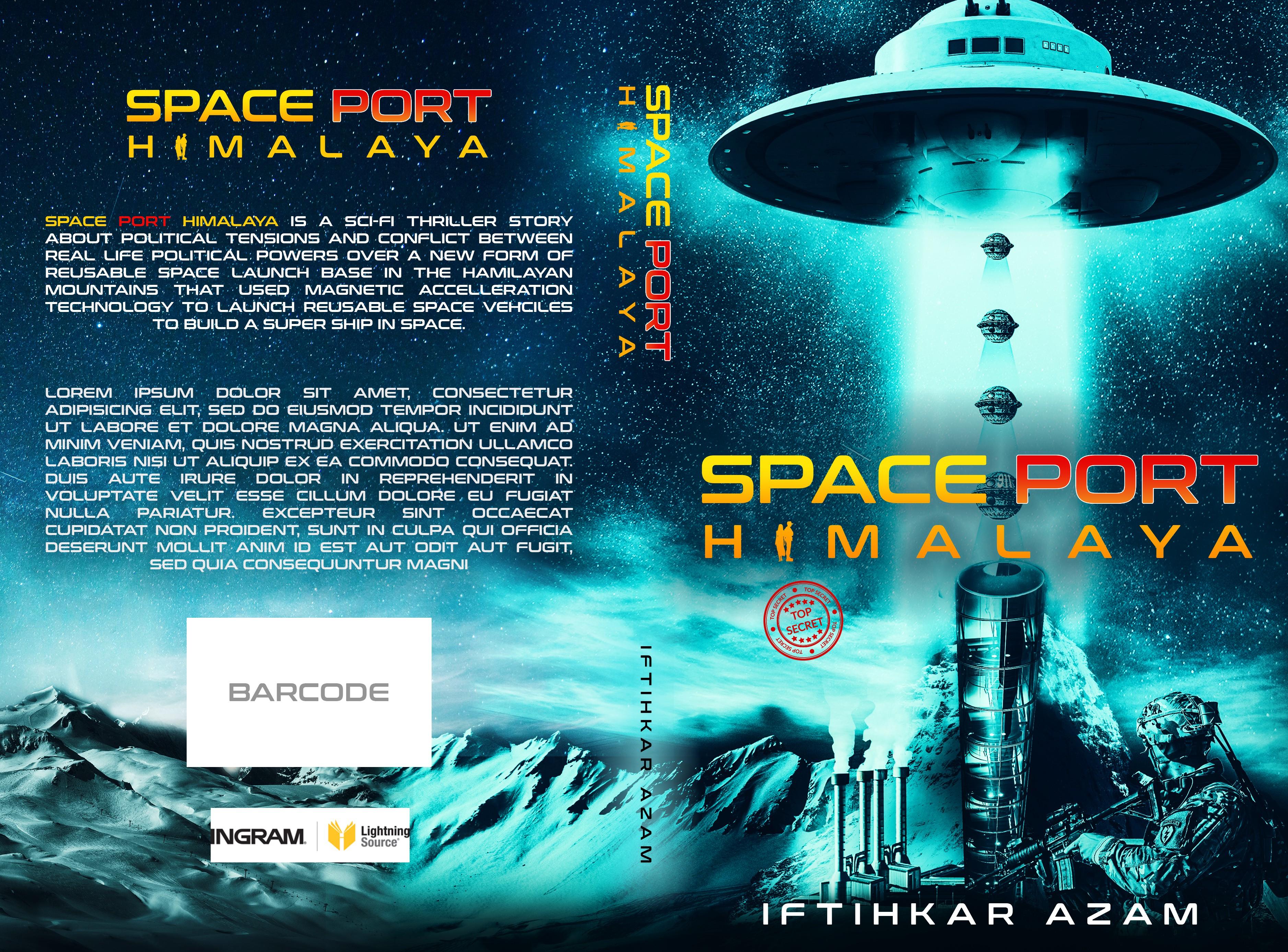 Sci-Fi Thriller Novel Needs Illustrated Cover