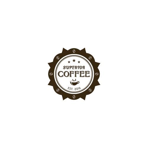 Emblem logo for coffee shop