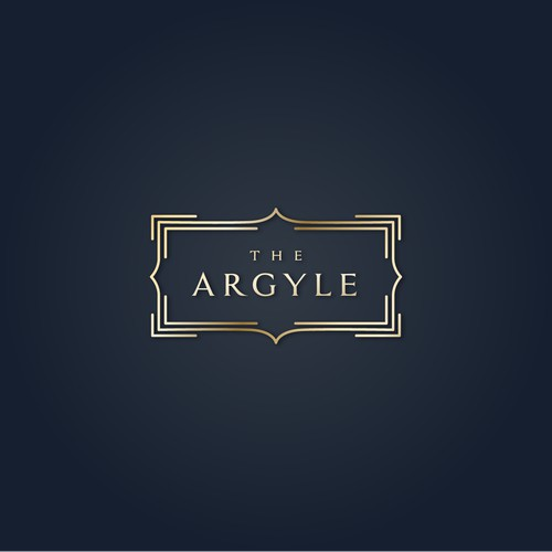 Luxury Art Deco Hotel Logo