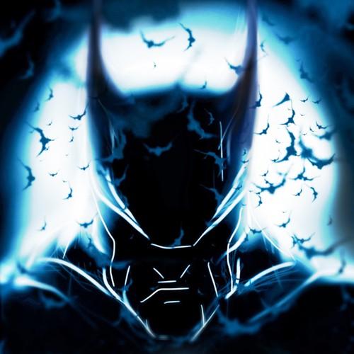 Batman 'The Dark Knight' - Poster Design.
