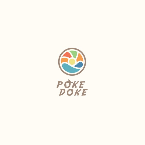 logo concept for food
