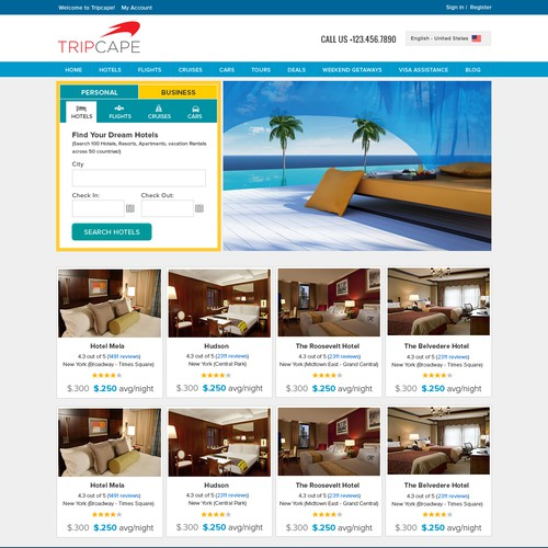 Exciting new TRAVEL website