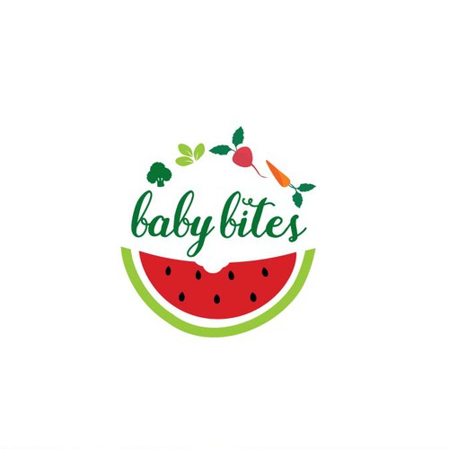 Vibrant Logo for Organic Baby Food
