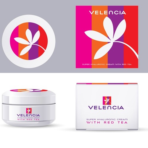 product packaging for Velencia Moisturizers