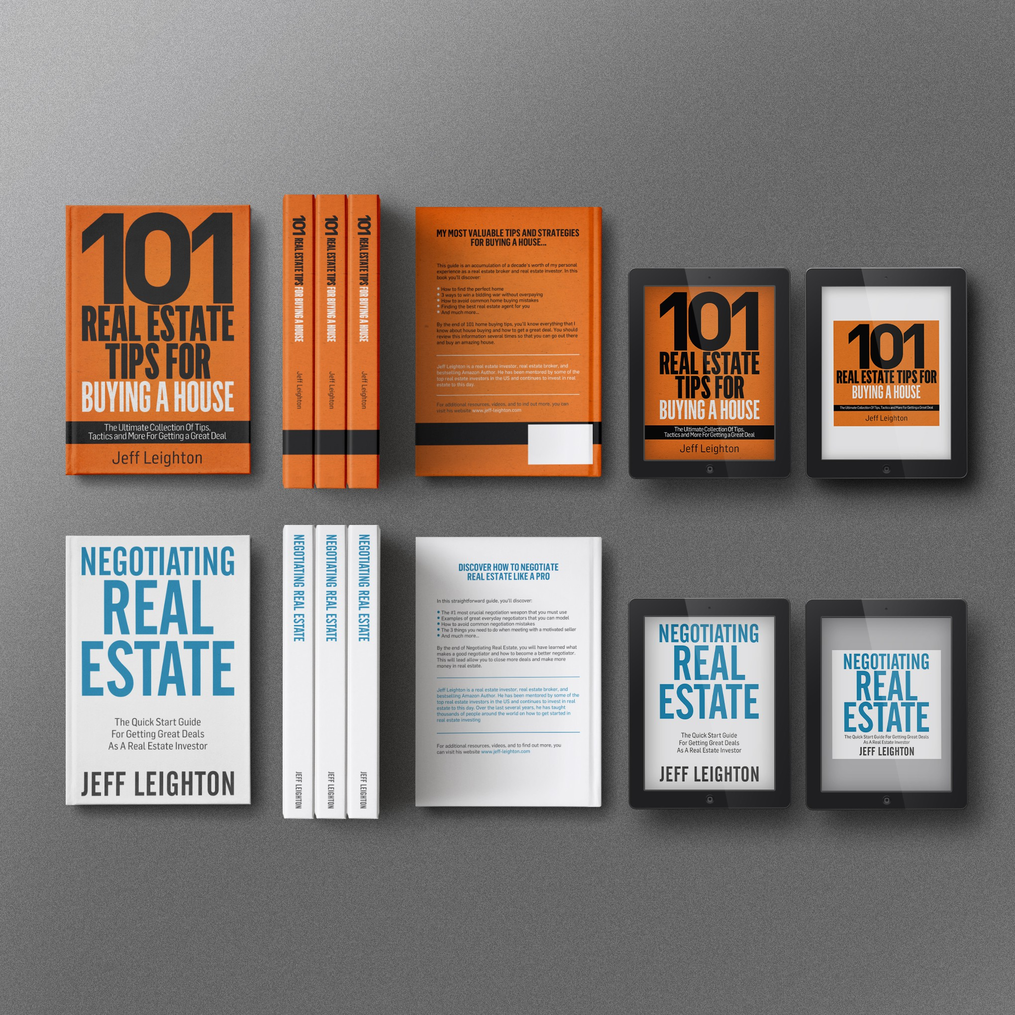 Book Cover For A Real Estate Book