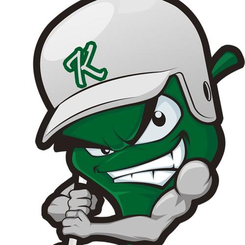 logo for Kudzu Baseball - Team Character Design (no word in logo)