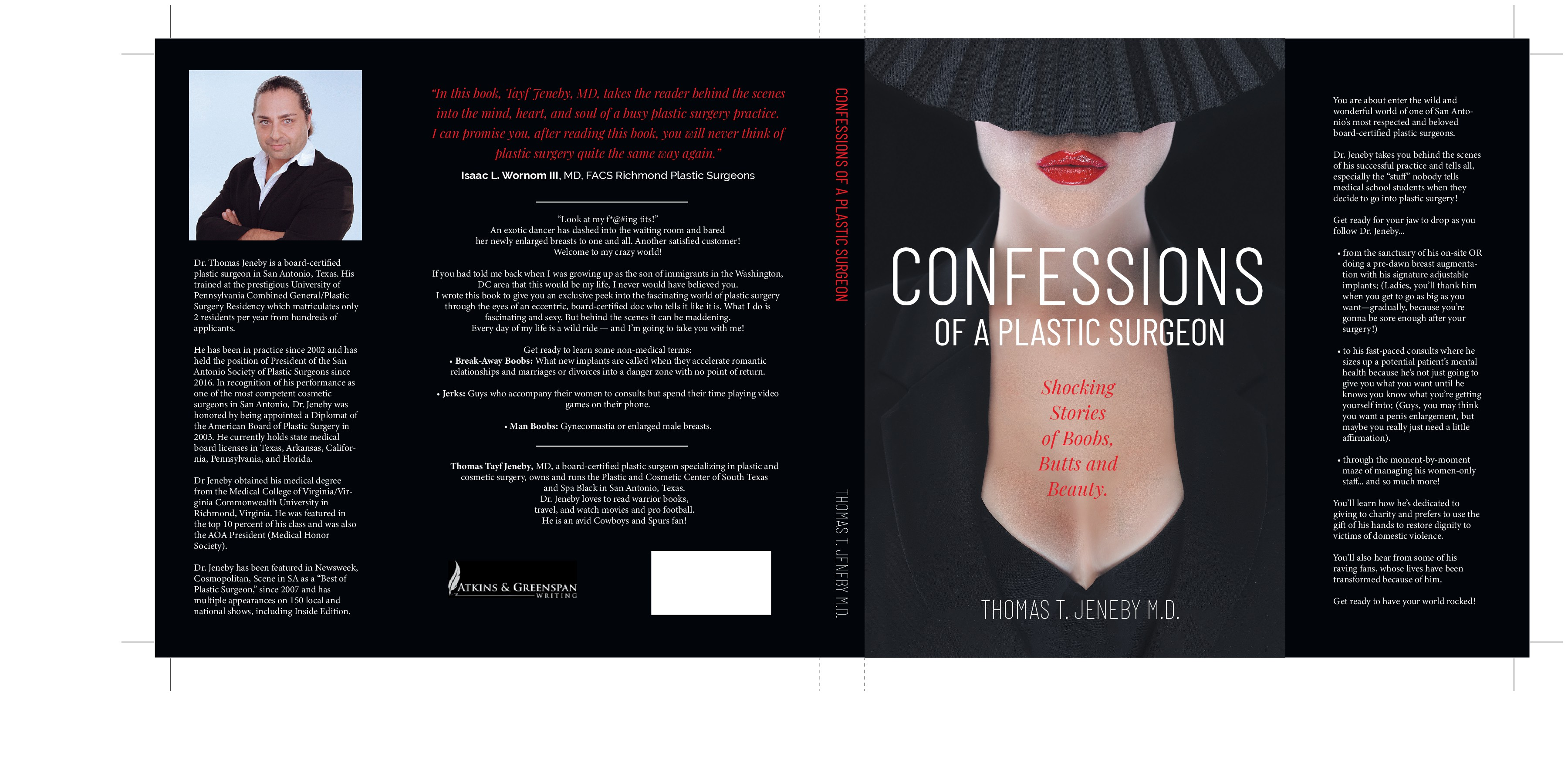 The front cover shpuld convey a sexy summer read to those who want to learn more Plastic Surgery
