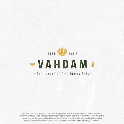 Logo for luxury Indian teas