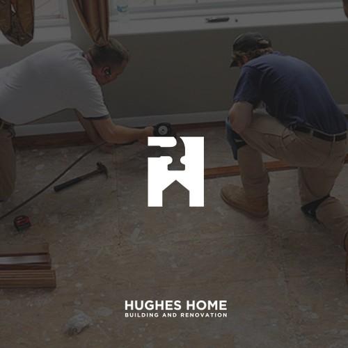 Design classy logo for home renovation company