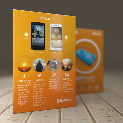 Packaging design for a smart device