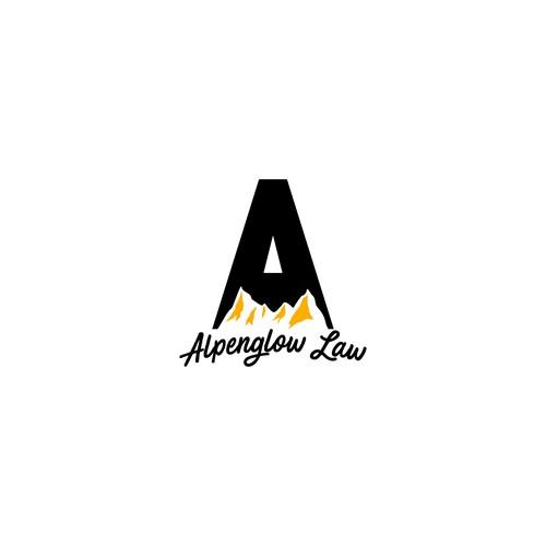alpenglow law logo