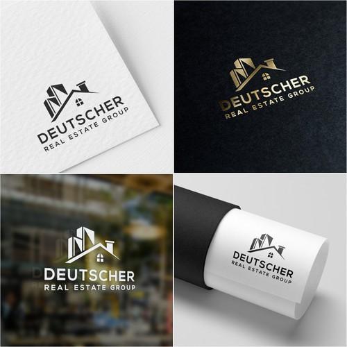 Logo concept for 'Deutscher Real Estate Group''