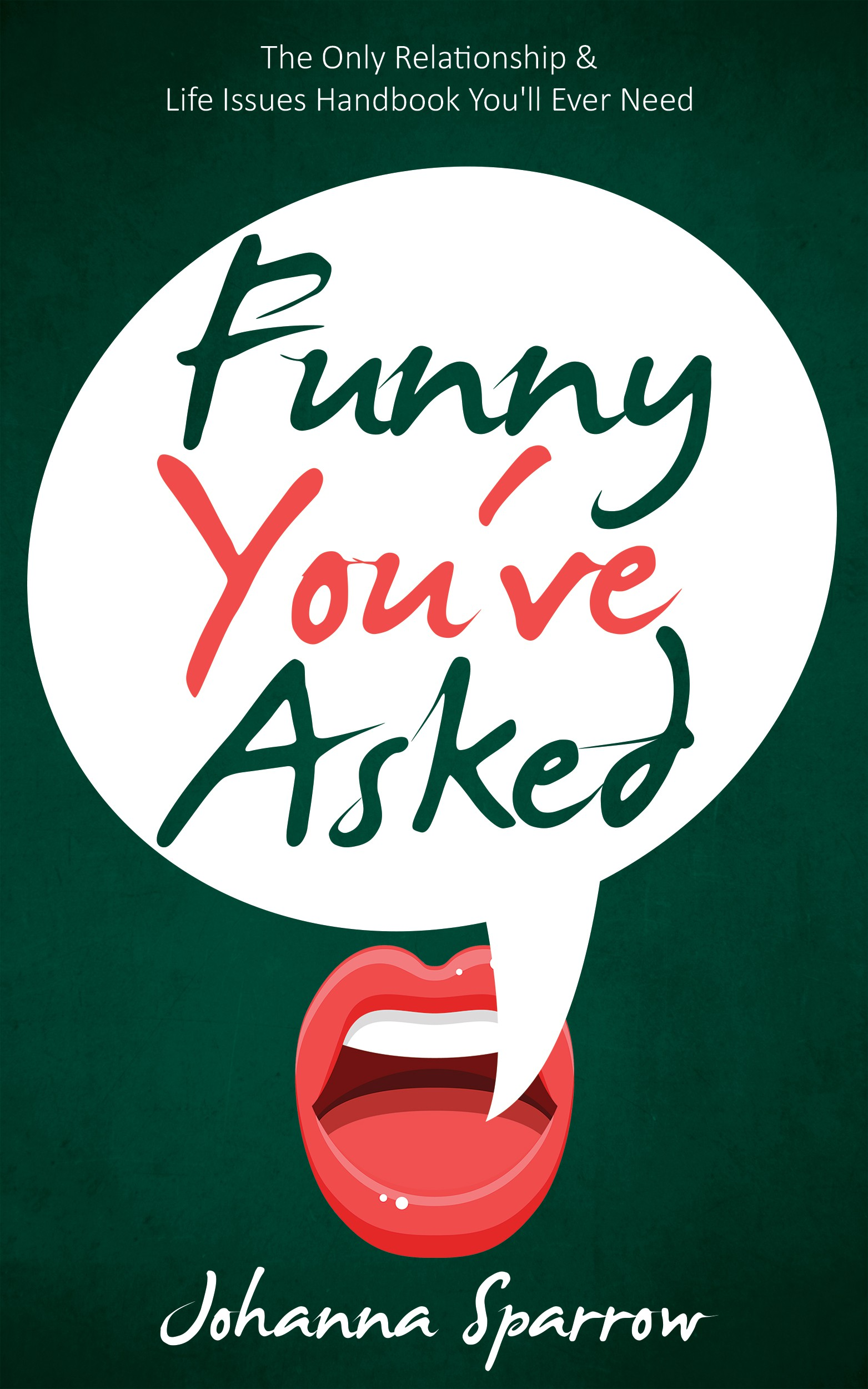 Ebook Cover Funny You've Asked