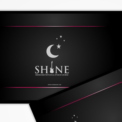 Shine- Biz card for fun wedding band