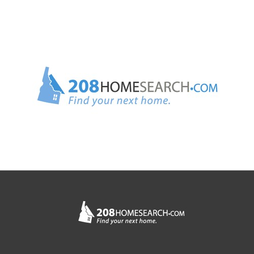 Homesearch logo concept for NJ