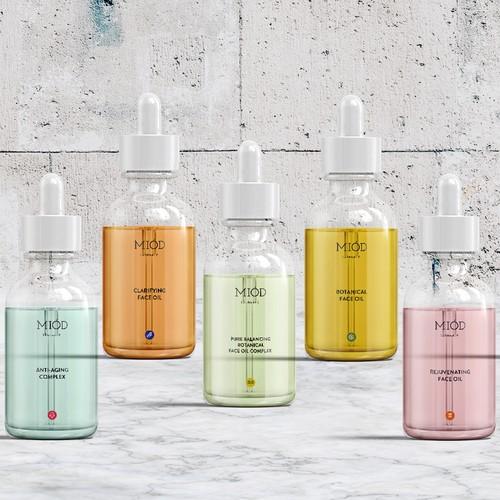 Miod Skincare Rebranding And Packaging Design