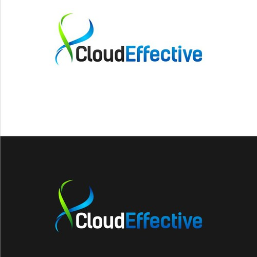 Cloud Effective( DNA Concept )