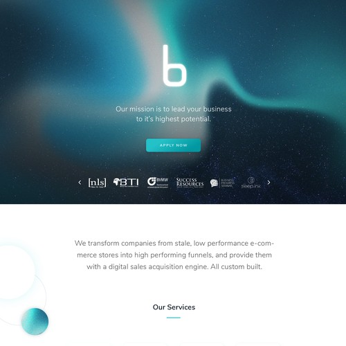Visionary Website for Digital Growth Agency