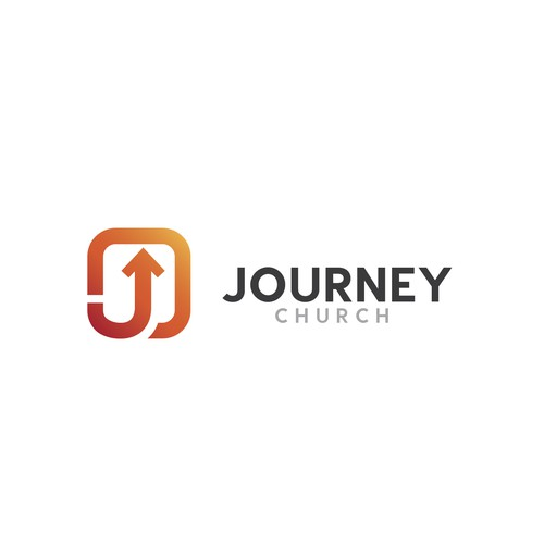 Modern logo for Journey Church