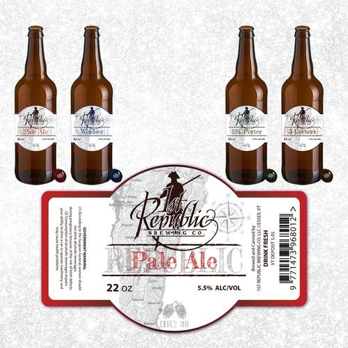 Beer Range Label