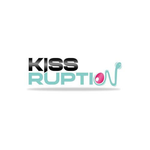 Conception logo Kiss RUPTION