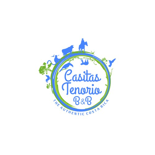 Logo for established B&B in COSTA RICA needed!