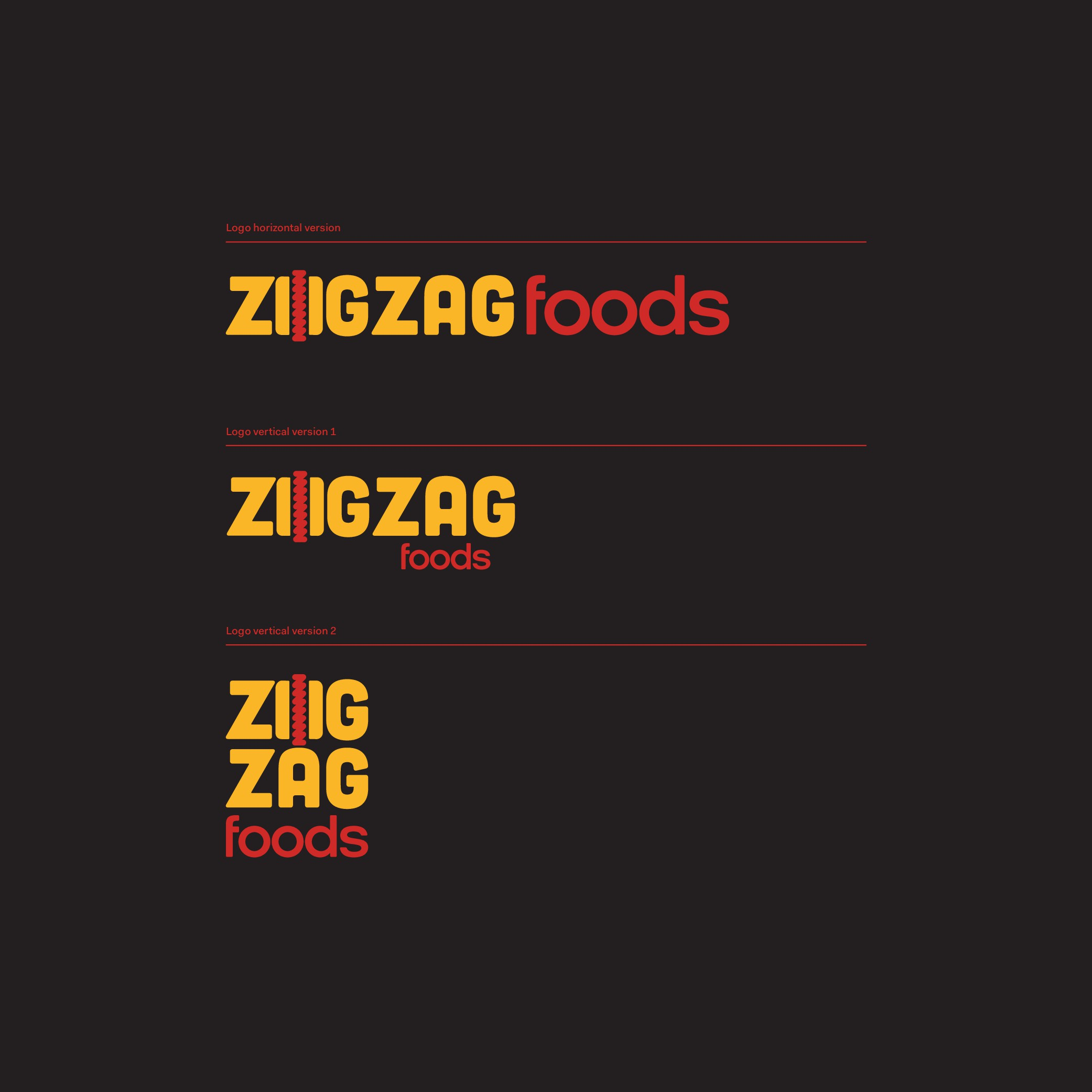 Zig Zag Hot Dogs