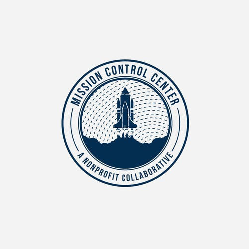 unique logo design for Mission Control Center