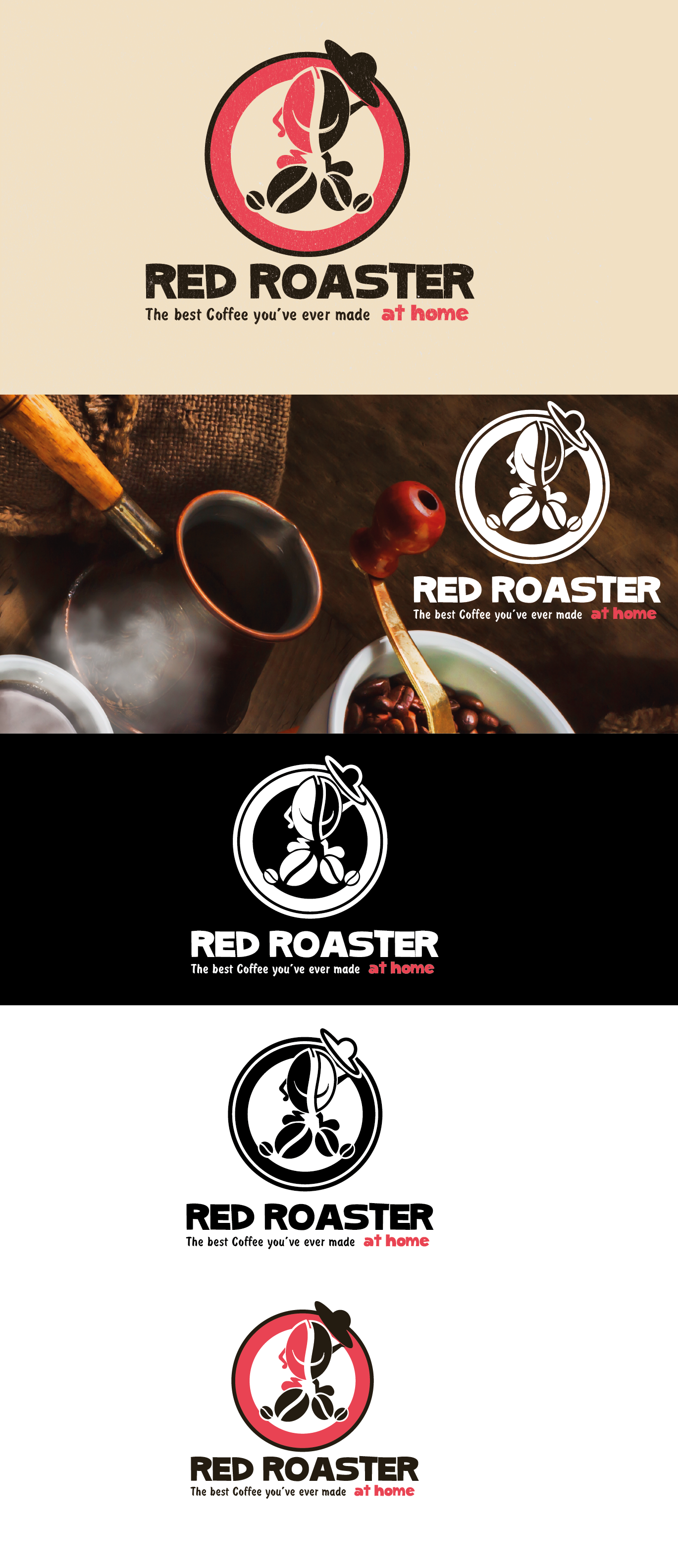 To create a warm and friendly logo and website for a small batch coffee roasters in Melbourne, Aus.