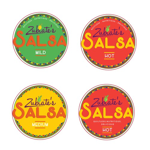 Logo For A Salsa Company