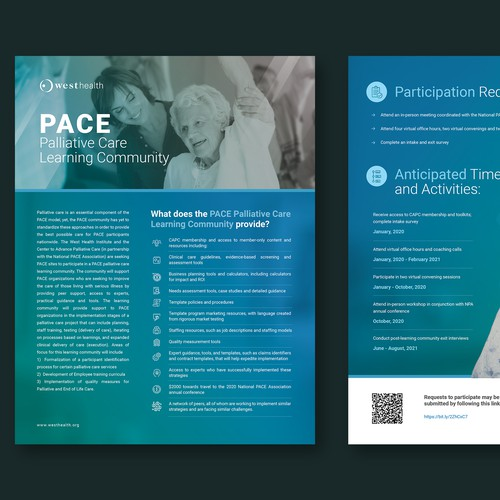 PACE Learning Community Flyer