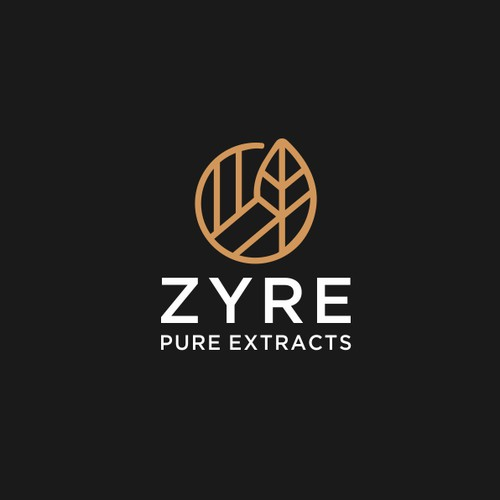 Design Logo For Zyre Pure Extracts