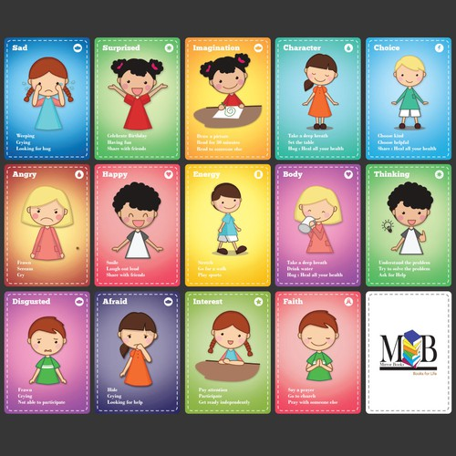 Children Trading Cards