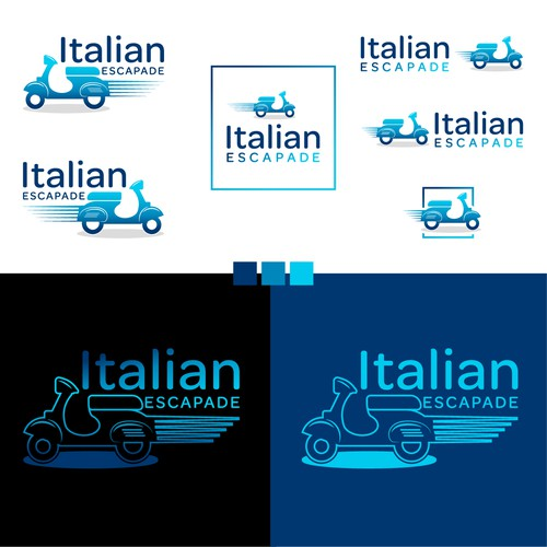 Logo for Touristic Company in Italy