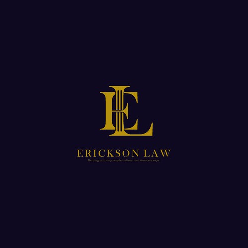 Professional logo For Erickson Law