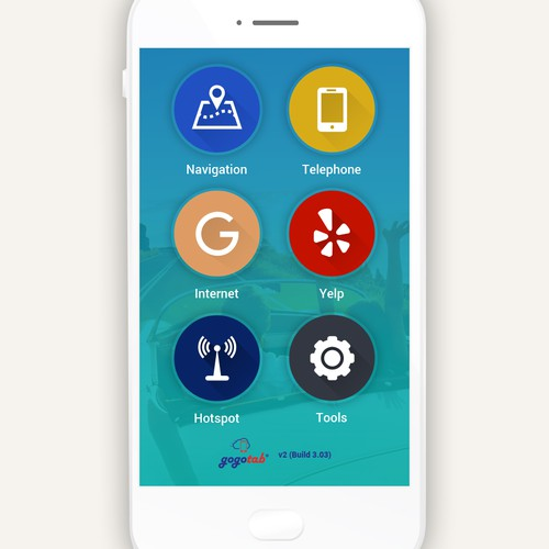 gogota android App Home page