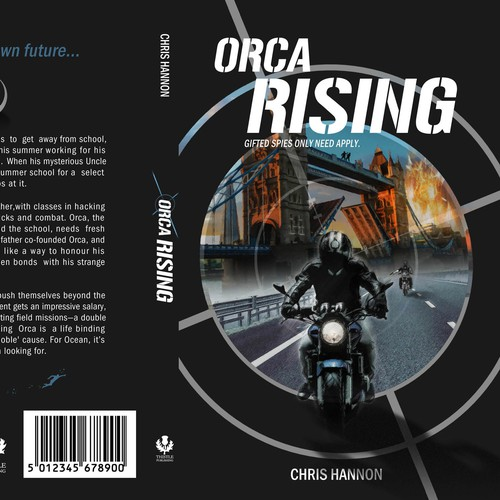 Book Cover for Orca Rising