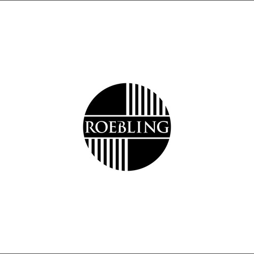 simple logo concept for Roebling