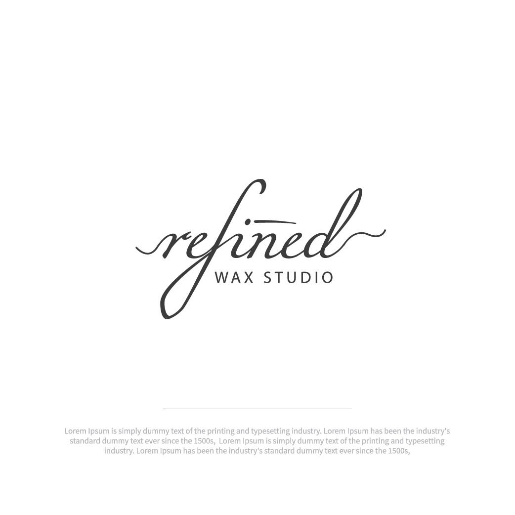 Refined wax studio needs a beautiful logo!