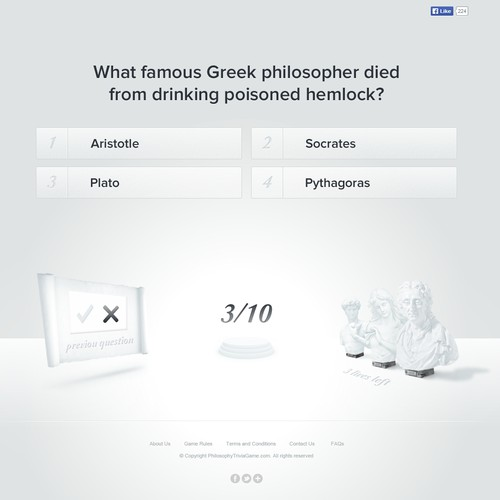 Philosophy Trivia Game