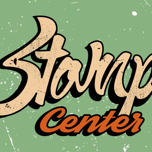 "Create A New Logo ""Stomp Center"" Come Rock Out With Us!!!"