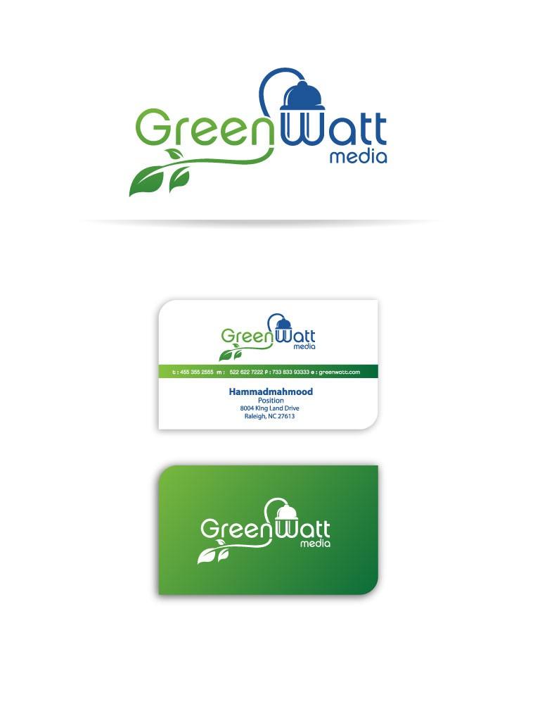GreenWatt Media needs a new logo and business card