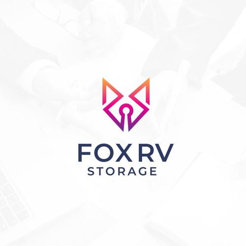 Fox Rv Storage Logo