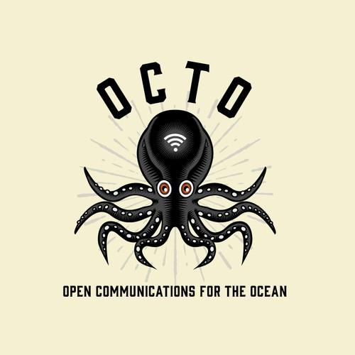 Octo Logo Design