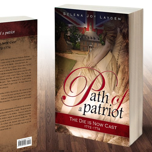 Book Cover Design for Historical Novel