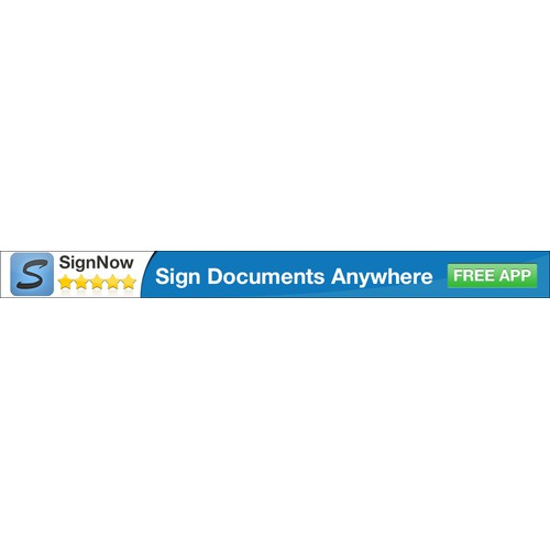 New banner ad wanted for SignNow